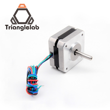 Free shipping Trianglelab titan Stepper Motor 4 lead Nema 17 22mm 42 motor 3D printer extruder