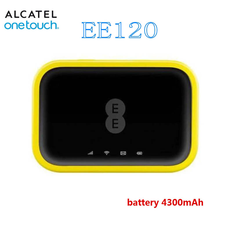 Unlocked Alcatel EE120 Cat12 600Mbps Portable 4300mAh Battery 4G LTE Mobile PK Huawei E5770