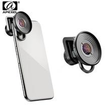 APEXEL HD 10X Макро линза мобильного телефона камера Супер Макро видеокамера объектив для iPhone xs max samsung s10 Xiaomi 9 Redmi Note 7 pro