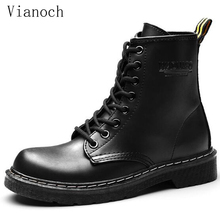 2018 Fashion Womens Ankle Boots Lace Up Winter Flats Shoes Motorcycle Boots Fur Shoe Size 40 41 42 43 aa0576 womens ankle boots soft flats shoes fashion womens autumn spring genuine leather shoes female plus big large size 40 41 aa0555