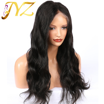 JYZ Hair Human Hair Full Lace Wigs Pre Plucked Natural Hairline With Baby Hair Body Wave Brazilian Hair Wigs Bleached Knots 130 density brazilian omber full lace wigs 1bt27 body wave blonde lace front human hair wigs with bleached knots and baby hair