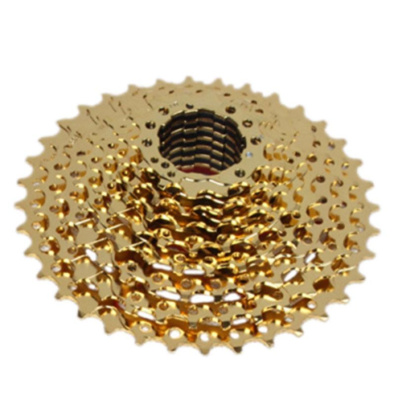 Culoare de aur cu 10 viteze 11-36T Mountain Bike Casetă Volantă - Ciclism - Fotografie 5