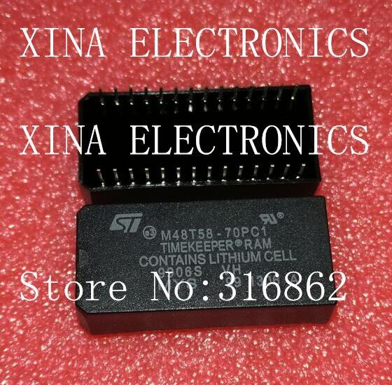 M48T58Y 70PCI M48T58Y 70PC1 M48T58Y 48T58 ROHS ORIGINAL 10PCS LOT Free Shipping transistor diode module RELAY