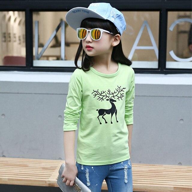Дети тенниски Deguisement enfants гарсон девушки футболка Дети с длинным рукавом футболка Девушки майка Мальчиков Футболки мультфильм печати топы