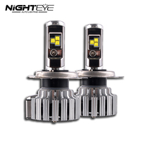 NIGHTEYE LED Headlight Bulbs Fog Lamps Light 80W Set 9000LM H4 HB2 9003 CSP Chips With