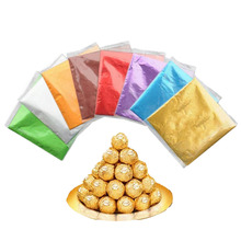 100 шт./компл. 8 см x 8 см красочные обвертки из алюминиевой фольги для шоколада упаковочная жестяная Бумага, конфеты, Алюминий Фольга тиснение Бумага