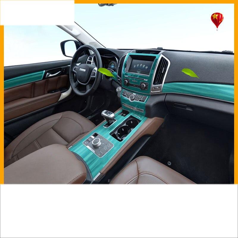 Lsrtw2017 portable transparent TPU film de protection intérieure de voiture pour la grande muraille haval H9 2015 2016 2017 2018 2019