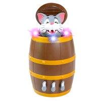 Kids Fun Toy Novelty Gag Shocker Gift Anti Stress Strange Cat Puzzle Trick Tricky Electric Music