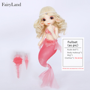 Image 5 - Free Shipping Realfee Mari Doll BJD 1/7 Little Mermaid Fantastic Ball Jointed Dolls Toy For Children Unique Gift Fairyland