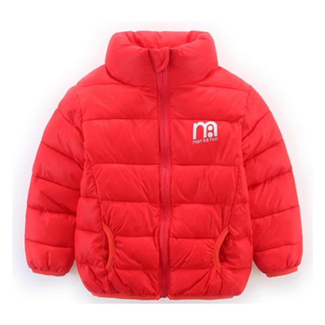 dba78ae16ed8 Baby Boys Jacket 2017 Autumn Winter Jackets For Girls Bomber Jacket ...