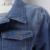 ArtSu 2017 Senhoras Denim Jaquetas Casacos Jeans Brasão Clássicos Casacos Mulheres Moda Jeans Casacos Rebites Jaquetas Femininas EPCO80021