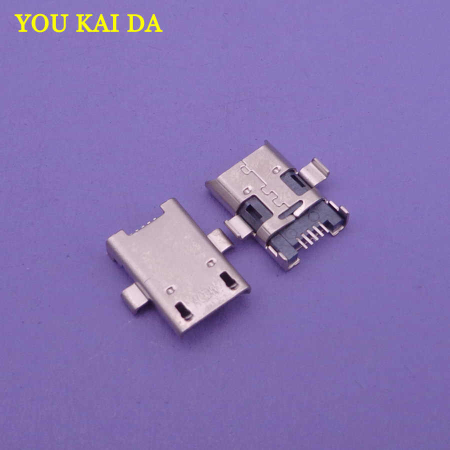 10pcs/lot Micro USB Jack connector for Asus ME103 ME103K ASUS ZENPAD 10 Z300C P023 P024 Z380C P022 8.0 Z300CG Z300CL