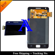 4.3′ Free Shipping 100%  tested Original  For Samsung Galaxy S2 plus i9105 i9105p LCD  Digitizer Assembly -Blue