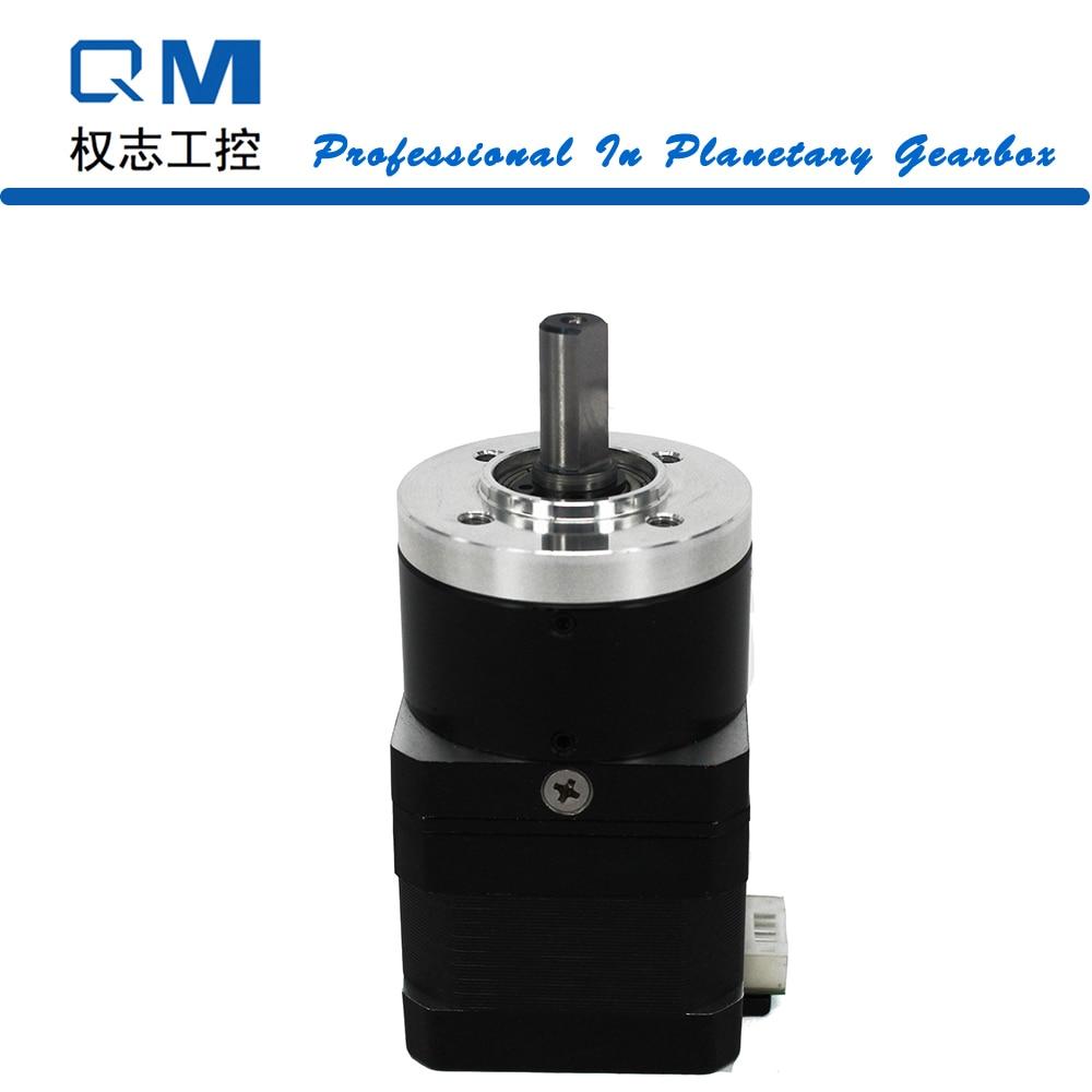 Gear motor nema 17 stepper motor L=34mm planetary gearbox ratio 10:1 cnc robot pump nema23 geared stepping motor ratio 50 1 planetary gear stepper motor l76mm 3a 1 8nm 4leads for cnc router