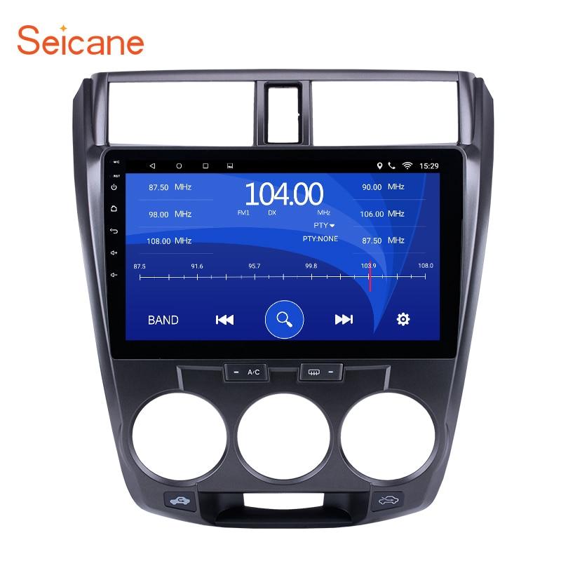 Seicane 2Din Android 6.0/7.1 10.1 Quad-Core Car Radio GPS Multimedia Player For Honda CITY 2011 2012 2013 2014 2015 2016 seicane 10 1 inch quad core android 7 1 6 0 car stereo radio gps navi bluetooth player for 2011 2012 2015 2016 honda city