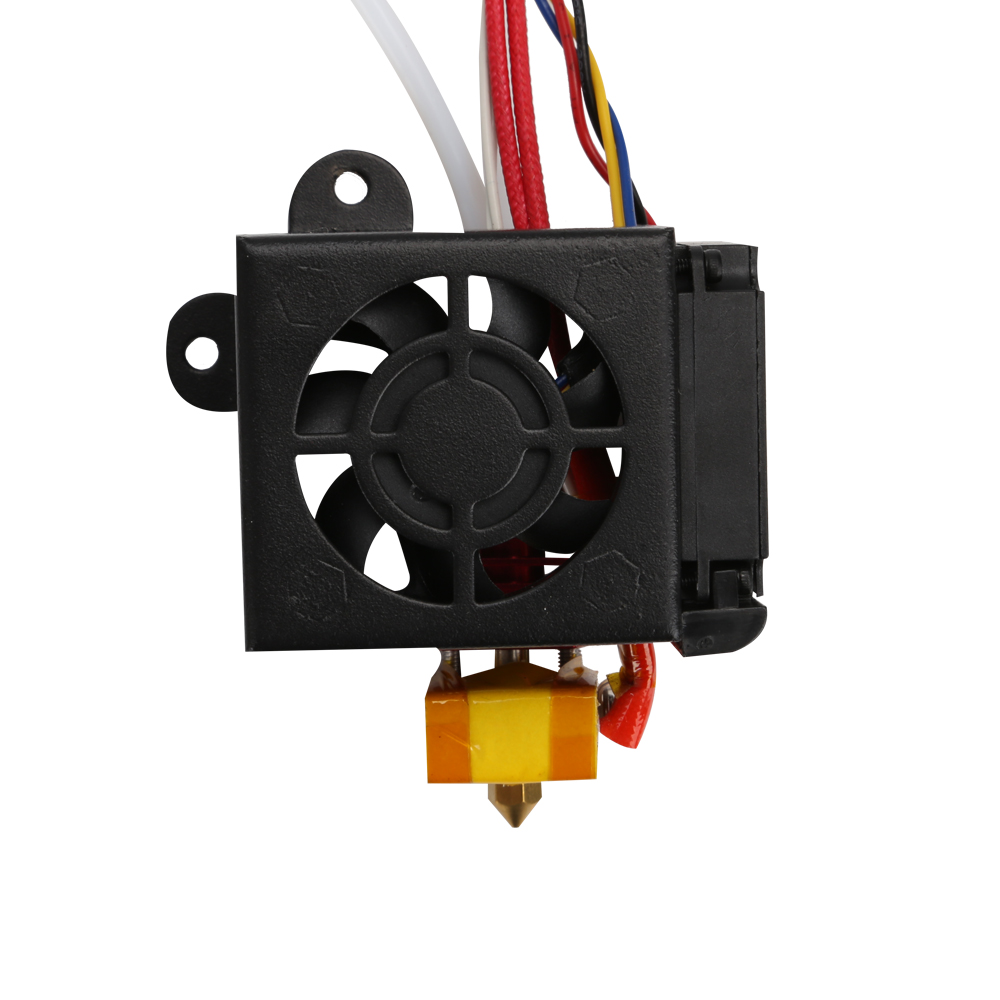 3D printer part Full Assembled Extruder Kits Fan Cover Air Connections Nozzle Kits for CR-10/CR-10s 4S 5S Series 3D Printer 2017 assembled jennyprinter3 z360ts dual extruder nozzle extended for ultimaker 2 um2 high precision auto leveling 3d printer