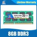 Ram ddr3 2 gb 4 gb 8 gb de memória Ram Sodimm PC3-12800 ddr3 4 gb 1600 compatível ddr3 1333 204pin Para Todos Os Processadores Intel AMD Laptop Garantia Vitalícia