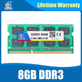 Ram ddr3 2gb 4gb 8gb Sodimm Ram ddr3 4gb 1600 PC3-12800 Compatible ddr3 1333 204pin For All Intel AMD Laptop Lifetime Warranty