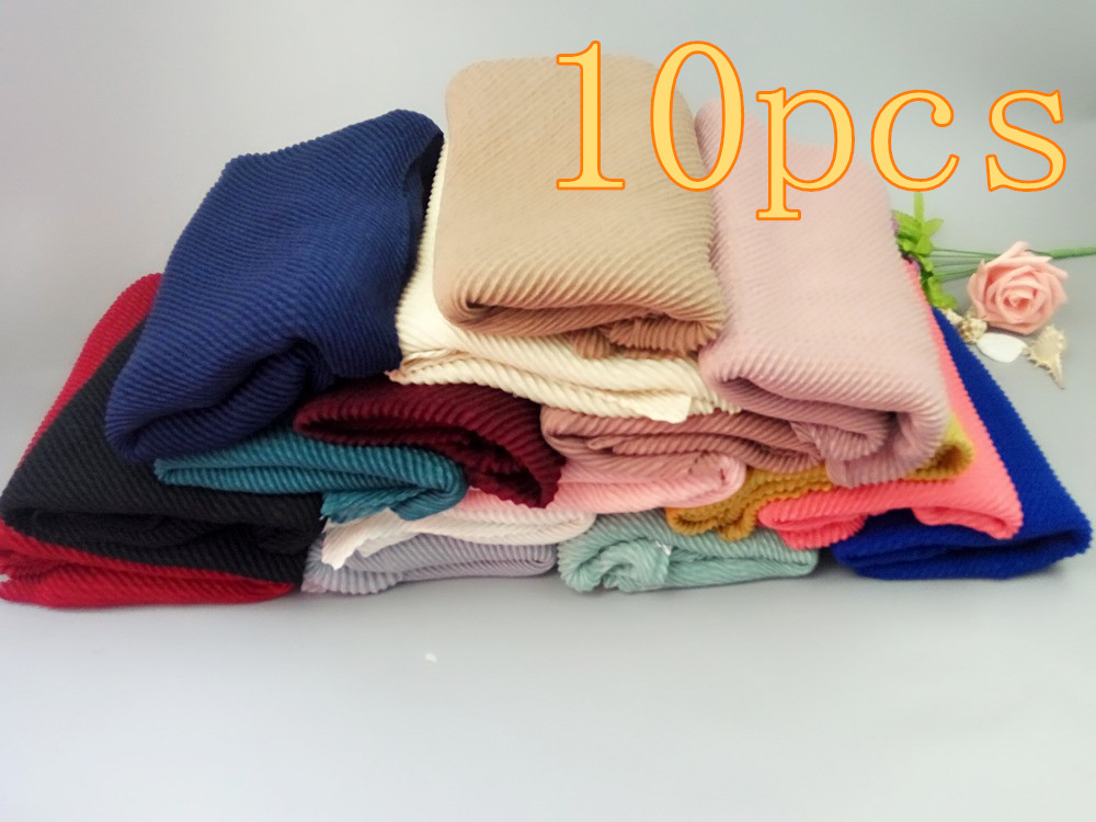 H92 Hot sale bubble plain scarf/scarves fringes women soft solid hijabs popular muffler shawls big pashmina muslim wrap new des