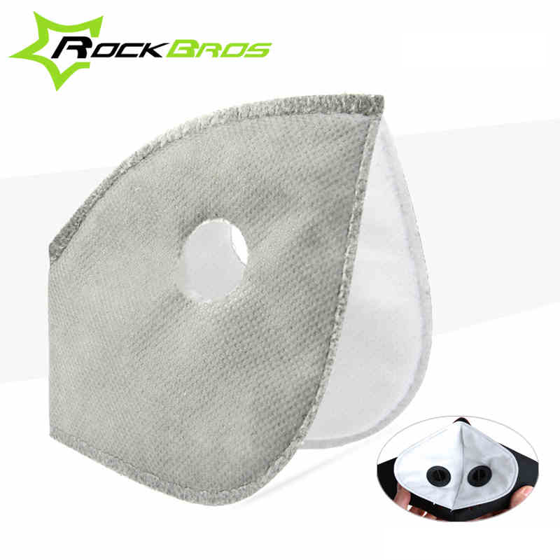 Prix pour ROCKBROS Vélo Masques Remplacement Filtre À Charbon actif et Valves Caps Vélo Vélo Sports de Plein Air Air Pollution Masque Filtre