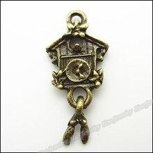 80 шт винтажные Подвески Часы Кулон Античная бронза для браслетов и колье DIY изготовление металлических украшений