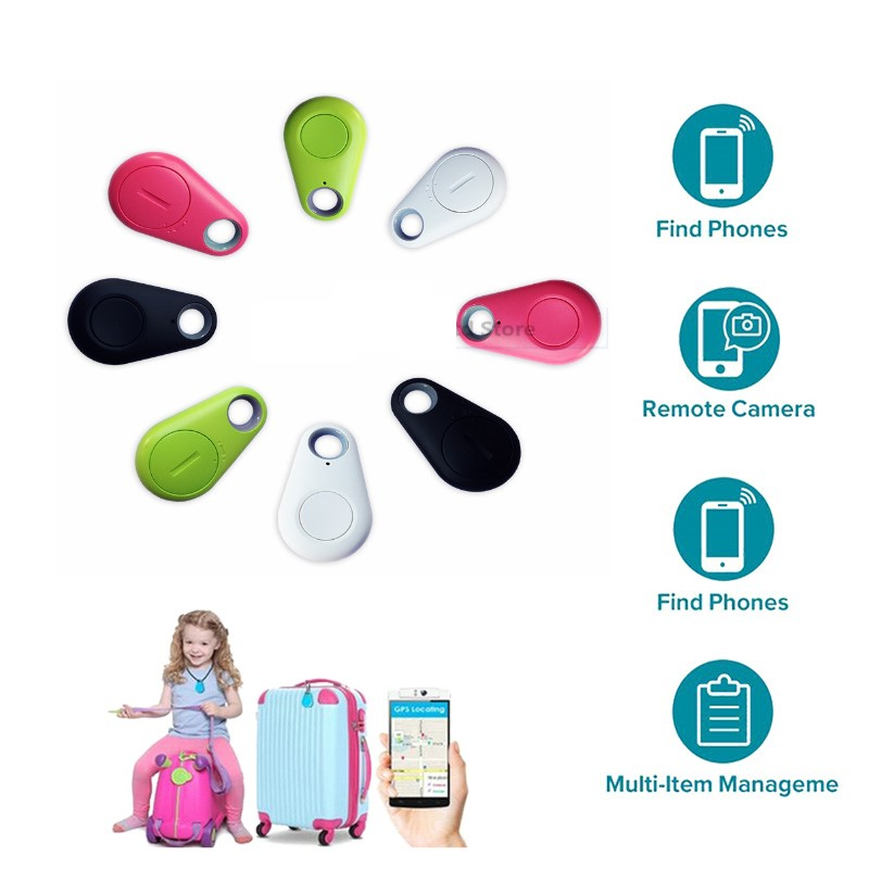 Anti-lost Alarm Smart Tag Wireless Bluetooth Tracker Child Bag Wallet Key  Finder GPS Locator anti lost alarm itag Smart Tracker