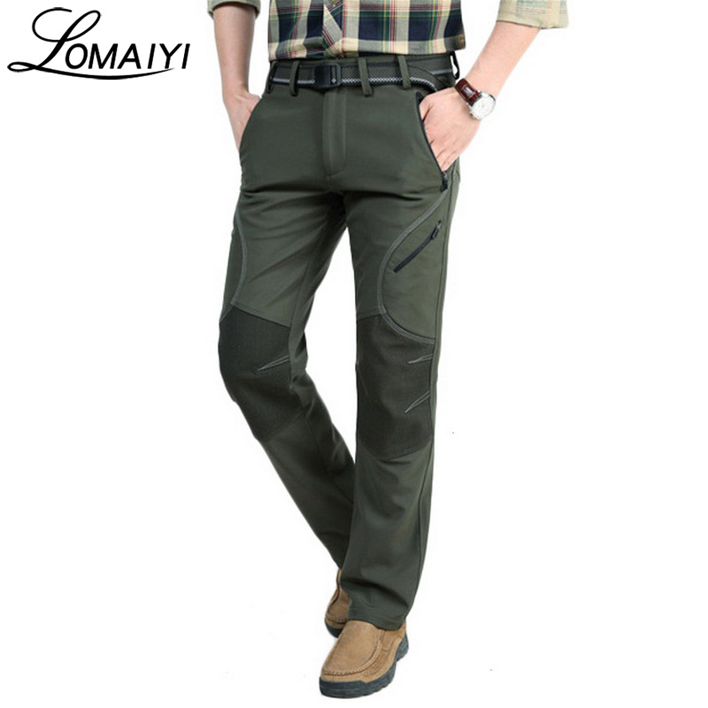 LOMAIYI Winter Casual Pants Men Trousers Male Army Military