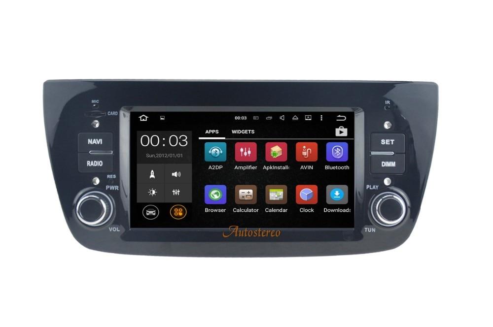 Android 7,1 6,0 5,1 dvd плеер автомобиля gps головного устройства для FIAT DOBLO 2010 2015 стерео блок авто мультимедиа pad