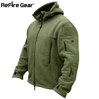 Spring TAD Outdoors Military Tactical Outdoor Soft Shell Fleece Hoody Jacket Men Sport Windproof Thermal Hunting