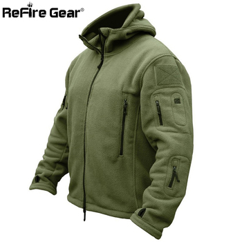Winter Military Tactical Fleece Jacket Men Warm Polar Army Clothes Multiple Pocket Outerwear Casual Thermal Hoodie Coat Jackets Jackets