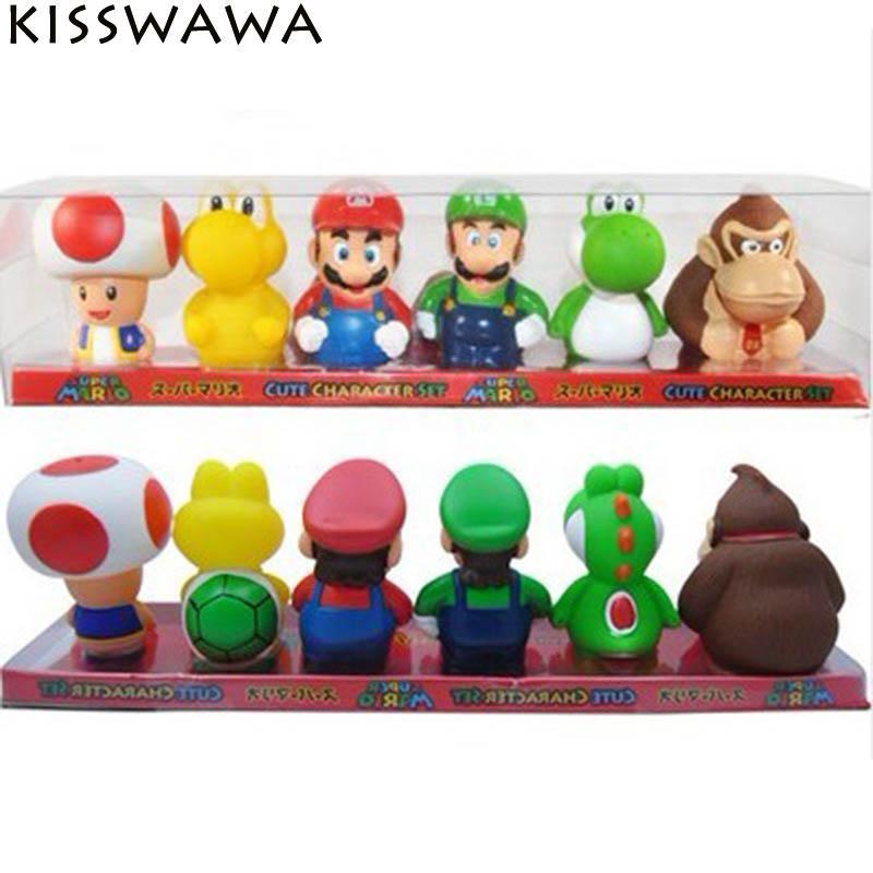 KISSWAWA Super Mario Bros Action Figure Nintendo 2