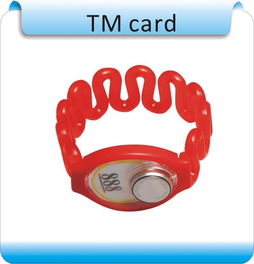 50pcs iButton TM Kartenarmband nicht magnetisch TM1990A-F5 - Schutz und Sicherheit - Foto 2