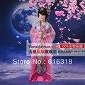Multicolor chino tradicional ropa hadas juego de la espiga Hanfu trajes de danza folclórica para mujeres que envían libremente