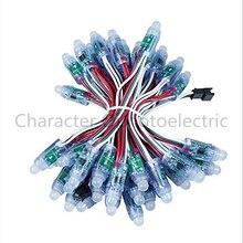 цена на 100 pcs/lot 12mm WS2811 2811 IC RGB Led Module String Waterproof DC5V Digital Full Color LED Pixel Light