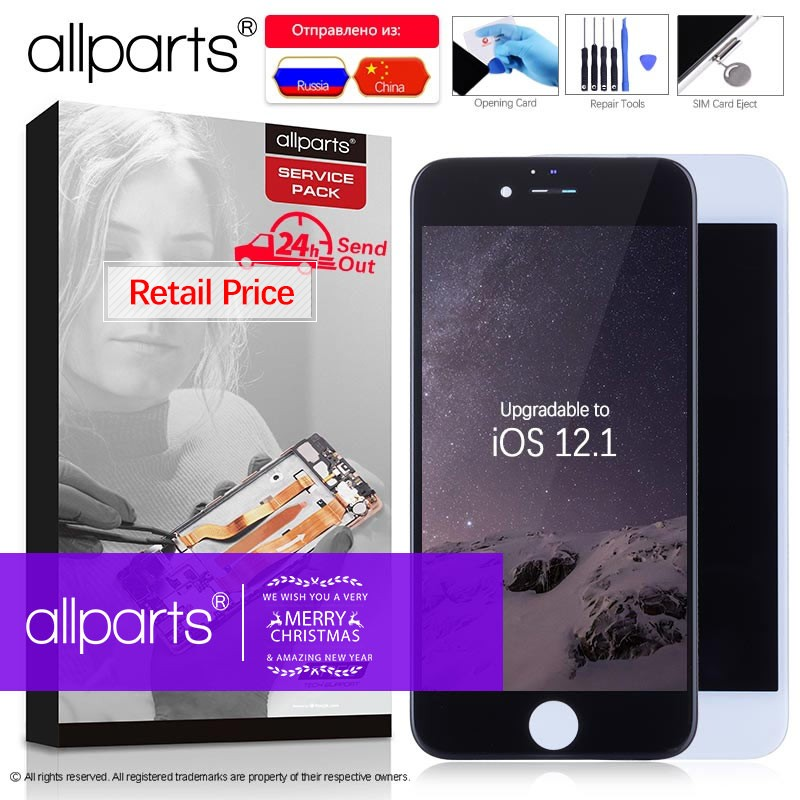 AAA 4.7 OEM Tela LCD Display Touch Para iPhone 6 3D para iPhone Display LCD Replacment para iPhone6 6 s iPhone6S LCD Digitador