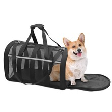 YOOAP Pet Carrier, Soft-Sided Carrier Medium Dogs & Cats Foldable Lightweight Collapsible