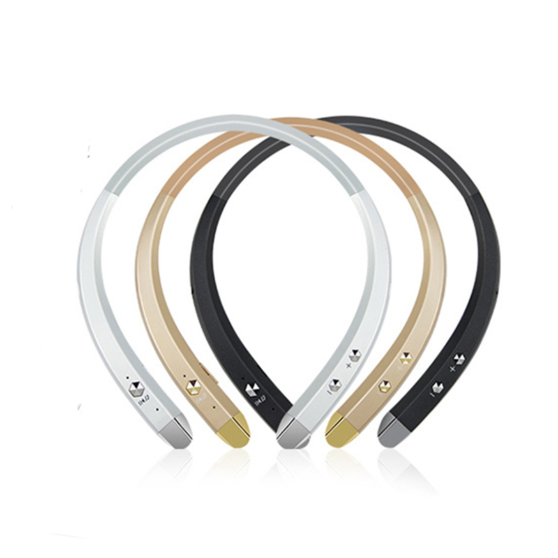 Waterproof Smart Bluetooth 4.0 Headphone Headset Wireless Earphone Sports Music Handsfree Voice Control Earphone #3