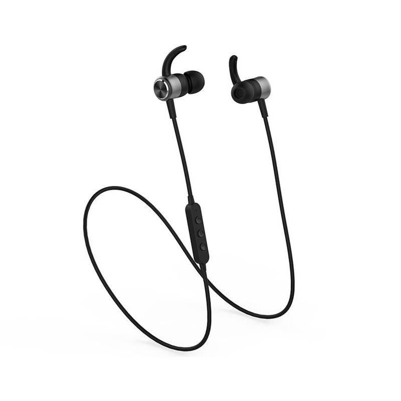 SikkiS Wireless Bluetooth In-ear Earphones for Sports  Earphones with Microphone  Remote Noise Isolating Stereo Bass Sound M17