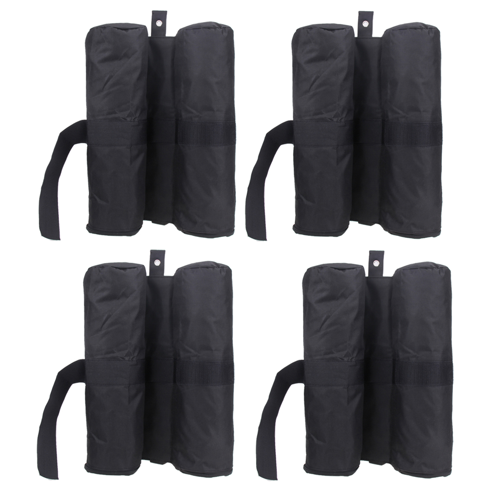 4pcs/Pack Leg Weights Outdoor Camping Tent Sand Bag Anti-tear Instant Canopy Weight Sandbag Instant Canopy Weight Sandbag esspero canopy