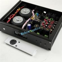 Es9028 es9028pro decodificador dac de áudio de alta fidelidade + alta qualidade toridal transformadores lcd1602 display opção xmos xu208 ou amanero usb