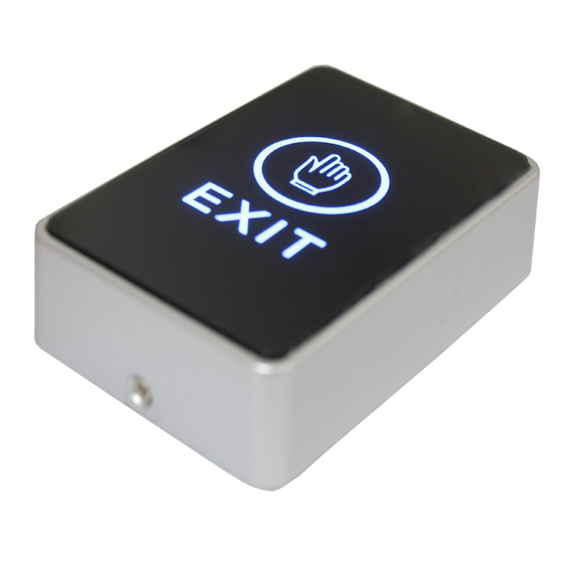 Door Touch Exit Button Push Home Release Switch Panel Access Control LED Light lpsecurity stainless steel door access control led backlit led illuminated push button door lock release exit button switch