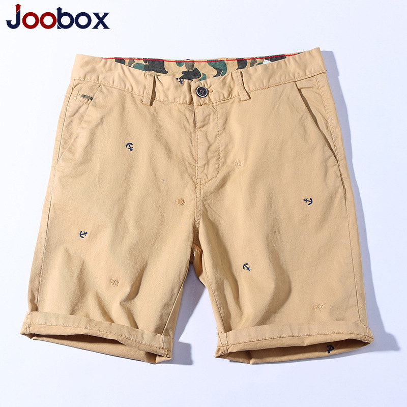 New 2018 of the mens cotton leisure more than five minutes of pants mens trousers color