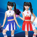 Children Cheerleaders Girl School Team Uniforms Kid Graduation Kids Performance Costumes Sets Girls Class Suit Girl School Suits