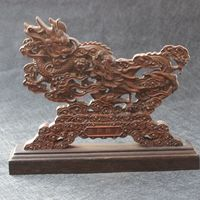 Boxwood wood carving, wood carving, Dragon carving, solid wood carving.