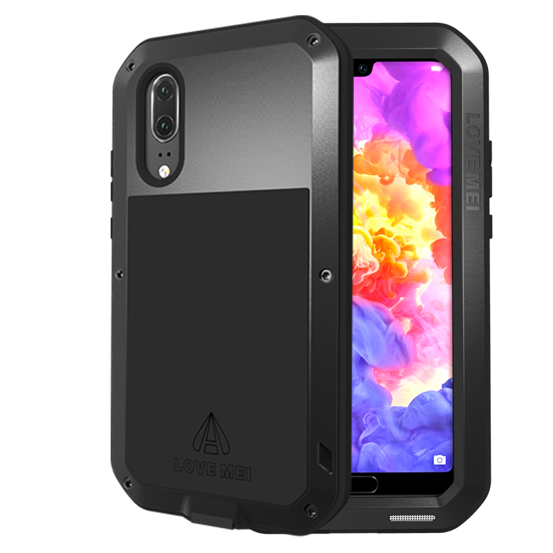 For Huawei P20 Pro Case Waterproof Cover for P 20 Aluminum Metal Shockproof Plus P20Pro P20+