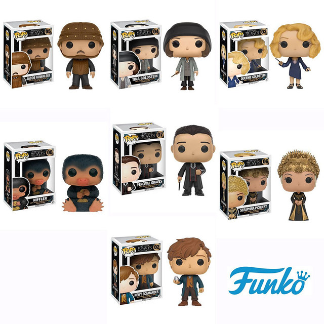 Funko Pop Official Movies Fantastic Beasts Newt Scamander With Egg