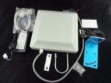 Free shipping Fixed UHF RFID card reader 5m long range 8dbi Antenna RS232/RS485/Wiegand