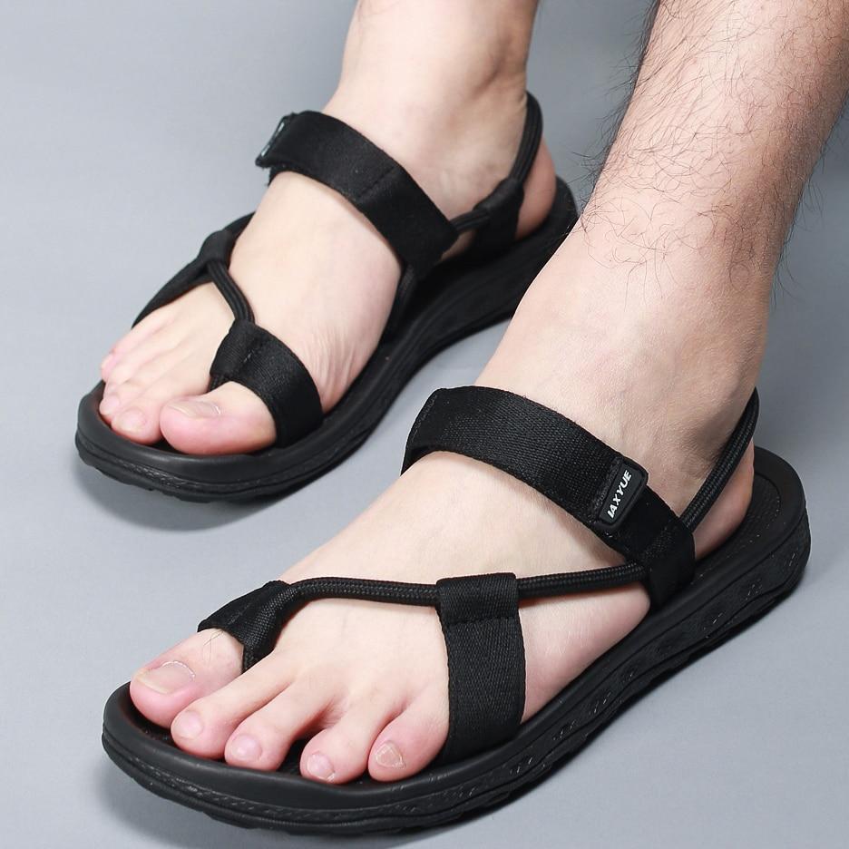 Mens Slipper Flat Roman Flip Flops Thong Sandals Casual Shoes Camo Black 4Colors Plus Size Unisex Beach Hot Summer