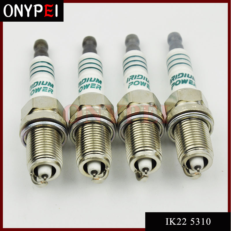 4pcs/Lot IK22 5310 Iridium Power Spark Plug For Ford Audi Honda Nissan Volvo IK22-5310 наушники bbk ep 1200s вкладыши оранжевый проводные