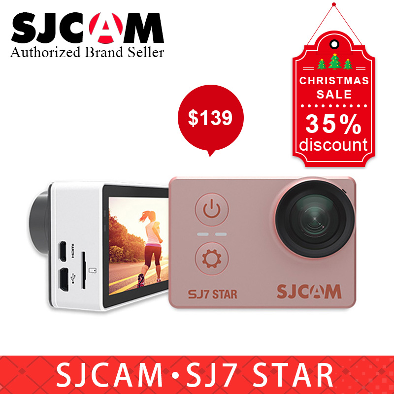Cadeau Original SJCAM SJ7 Étoiles 4 k 30fps Ultra HD wifi Action Camera 2.0